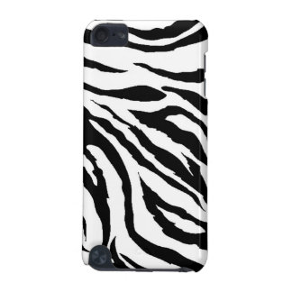 Zebra tryckipod touch case iPod touch 5G fodral