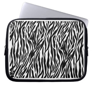 Zebra trycklaptop sleeve datorskydds fodral