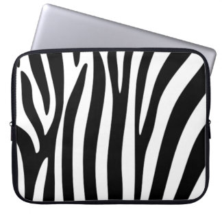 Zebra trycklaptop sleeve laptop datorfodral