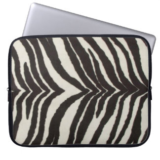 Zebra trycklaptop sleeve laptopfodral