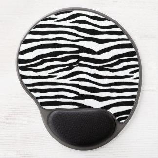 Zebra tryckmönster gelé musmattor