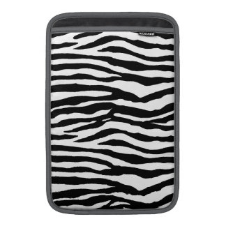 Zebra tryckmönster MacBook sleeve