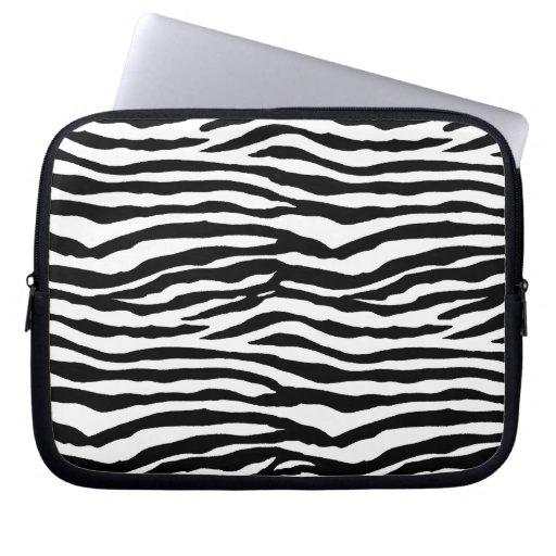 Zebra tryckmönster datorskydd