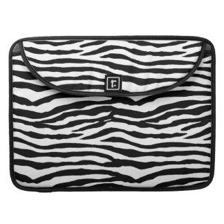 Zebra tryckmönster MacBook pro sleeves