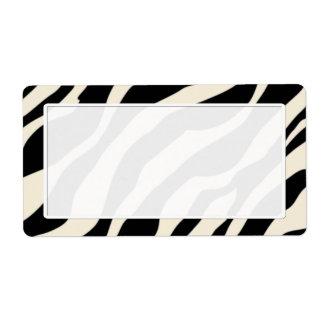 Zebra trycksändningsetiketter fraktsedel