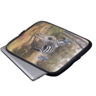 Zebrorlaptop sleeve laptop datorfodral