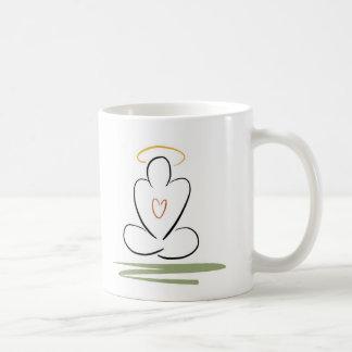 Zen-Inspirerat konstverkStandard-Format för Kaffemugg