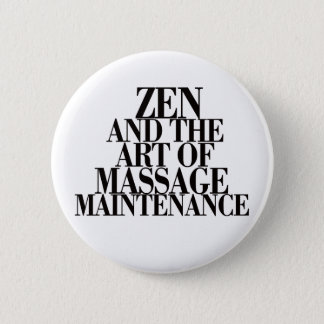 ZEN & konsten av MASSAGEN Standard Knapp Rund 5.7 Cm