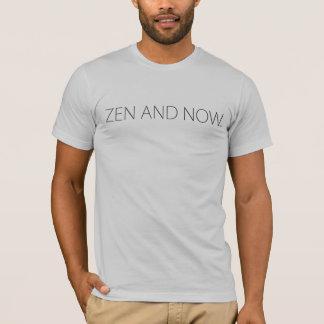 Zen och nu tee shirt