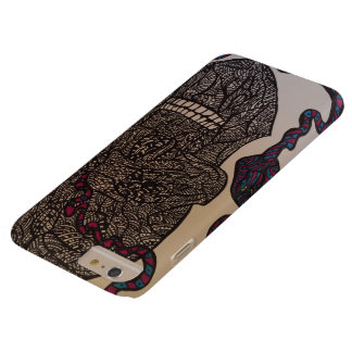 Zendoodle skalle/orm barely there iPhone 6 plus fodral