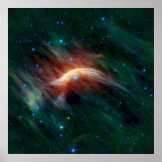 Zeta Ophiuchi - en framtida Supernova Poster