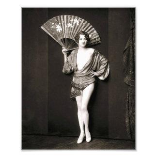 Ziegfeld flicka fototryck