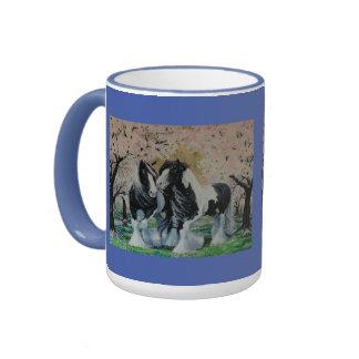 Zigensk häst för Vanner hingstmare i körsbärsröd Mugg