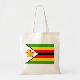 Zimbabwe flagga budget tygkasse