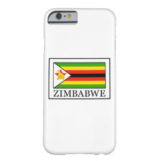 Zimbabwe mobilt fodral barely there iPhone 6 skal