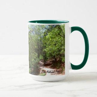 Zion för smaragdbassängTrail- nationalpark Mugg