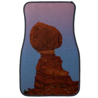Zion nationalpark, balanserad sten bilmatta