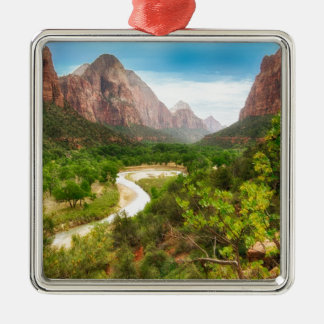 Zion nationalpark julgransprydnad metall