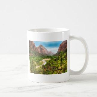 Zion nationalpark kaffemugg