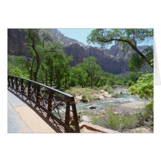 Zion nationalpark OBS kort
