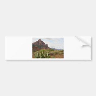 Zion nationalpark, Watchman, Utah, USA 9 Bildekal