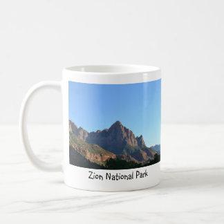 Zion nationalparkmugg kaffemugg