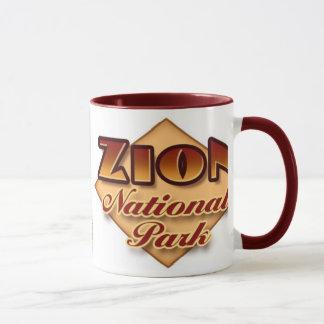 Zion nationalparkmugg mugg
