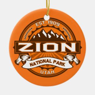 Zion pumpa julgransprydnad keramik