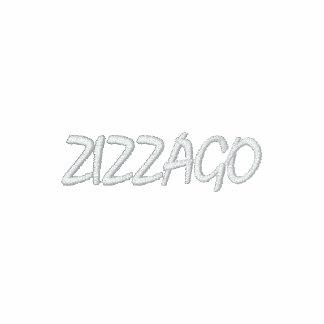 ZIZZAGO broderad RÖD långärmadT-tröja