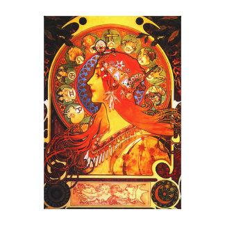 Zodiac Canvastryck