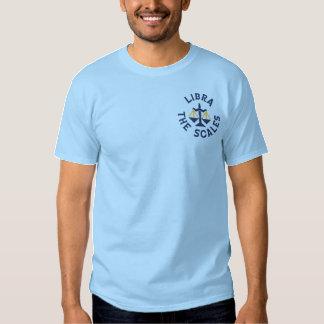 Zodiac i Libra Broderad T-shirt