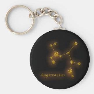 Zodiac - Sagittarius Rund Nyckelring