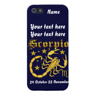 Zodiac Scorpio-Design-1 beskådar nedanfört antyder iPhone 5 Cover