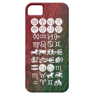 Zodiacastrologisymbol: BirthStar Goodluck berlock iPhone 5 Case-Mate Skal