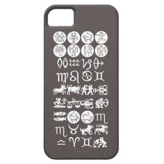Zodiacastrologisymbol: BirthStar Goodluck berlock iPhone 5 Fodral