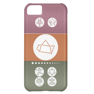 Zodiacastrologisymbol: BirthStar Goodluck berlock iPhone 5C Fodral