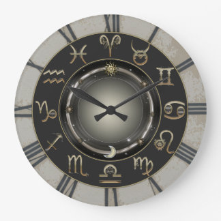 Zodiactecken Stor Klocka