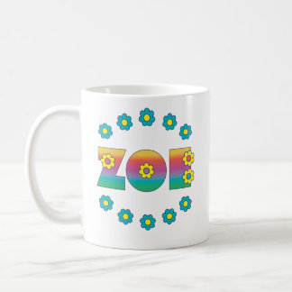 Zoe Flores regnbåge Kaffemugg