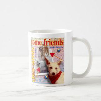 ZoeSPEAK - några vänner på stranden… Kaffemugg