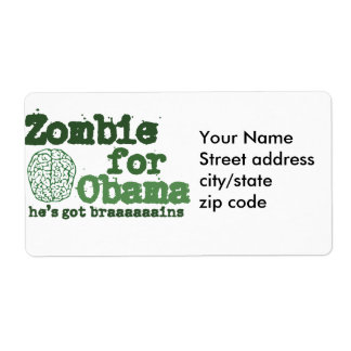 Zombie för Obama Fraktsedel