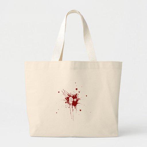 Zombie för vampyr för donation för nolla-realitetb tygkasse