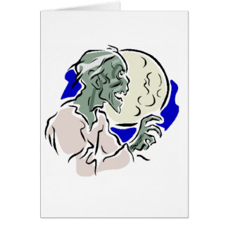Zombie Hälsningskort