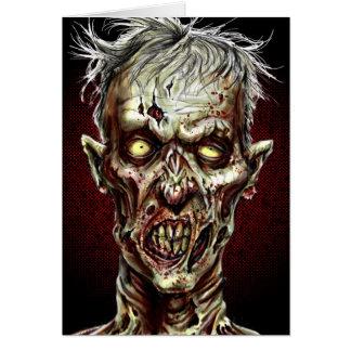 Zombie!! Hälsningskort