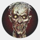 Zombie!! Runt Klistermärke