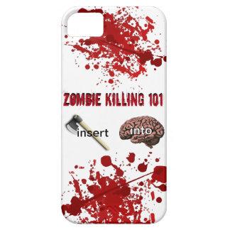 Zombie som dödar 101 (mellanläggsaxen in i hjärna) iPhone 5 Case-Mate cases