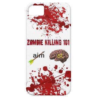Zombie som dödar 101 (syftepilen på hjärnan) iPhone 5 Case-Mate cases