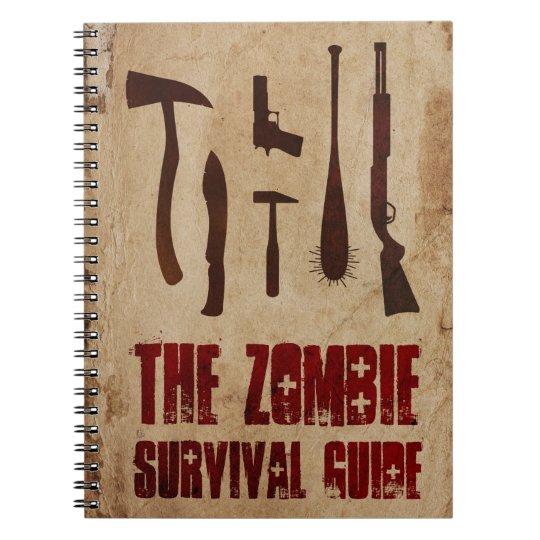 Zombie Survival Guide Anteckningsbok