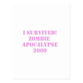 zombie vykort