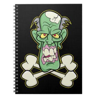 "Zombie Xbones ""002"" anteckningsbok"