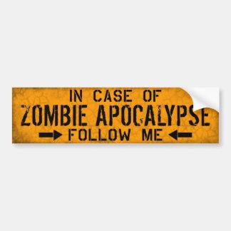 Zombieapokalypsbildekal Bildekal